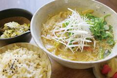 べジ豆乳ラーメン&担担麺の麺がグルテンフリーになりました(^_-)