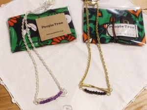 People Tree のアクセサリーが入荷致しました!/mumokuteki goods&wears京都