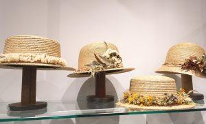 ドライフラワーアレンジ付きの帽子が入荷しました! / mumokuteki goods&wears京都