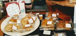 冬の焼き菓子のご紹介です