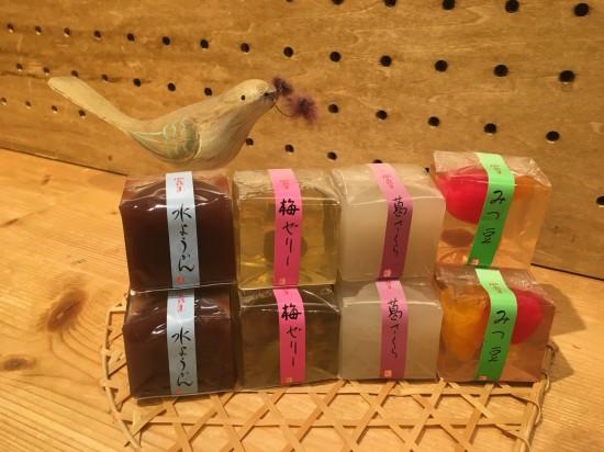 見た目もかわいい和生菓子*/mumokuteki goods&wears ららぽーとTOKYO-BAY