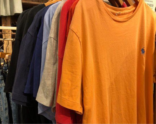 人気アイテム《USED》ラルフローレン半袖Tシャツが追加で入荷致しました◎