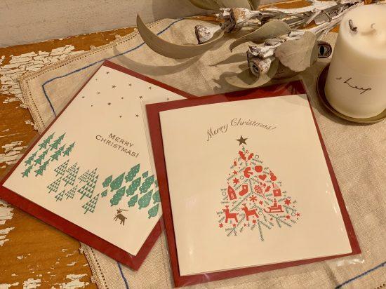 クリスマスカード入荷致しました!
